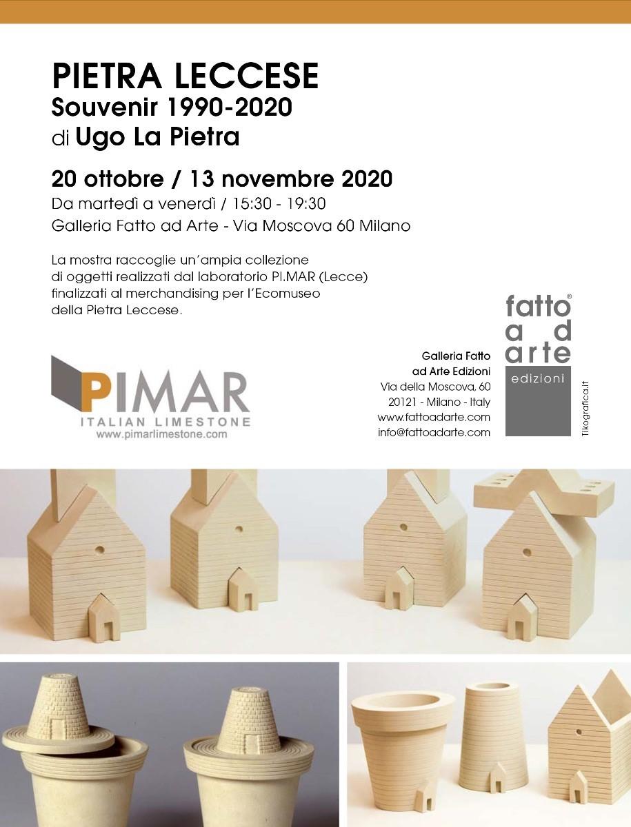 Pietra Leccese PIMAR_Souvenir 1990-2020 di Ugo La Pietra 20 ottobre -13 novembre 2020